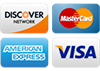 Credit Cards we take